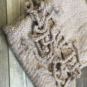 Blush Oatmeal Blanket Scarf